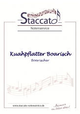 Kuahpflatter Boarisch (Boarischer) - Blechbesetzung