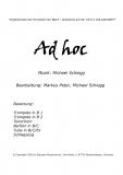 Ad hoc (Marsch) - Blechbesetzung
