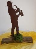SAXOPHONIKUS - Saxophonist aus handgemachtem Feinblech
